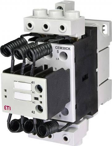 Контактор CEM 30CK.01 (30 кВАр, 400-440V) 30kvar, 230V , фото 2