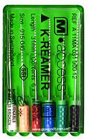K-reamer M-access (25мм.) корневые буравы ручные 6 шт