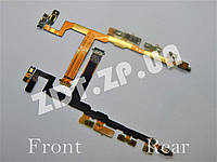 Шлейф с компонентами Sony Z5mini (кнопки включения, громкости, камеры, вибро, микрофон) (7300105)