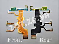 Шлейф с компонентами Sony T2 (кнопки включения, громкости, камеры,  микрофон) (7300125)