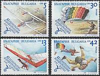 Болгария 1989 - аэроспорт - MNH XF