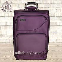 Чемодан большой L 2 колеса( фиолетовый), фото 3