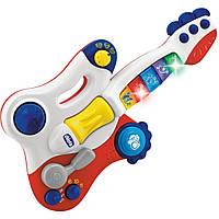 Детская игрушечная электрогитара Chicco