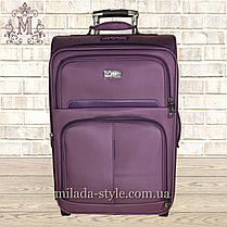 Чемодан большой L 2 колеса(фиолетовый), фото 2