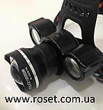 Налобный фонарик BL 878 T6+COB, фото 4