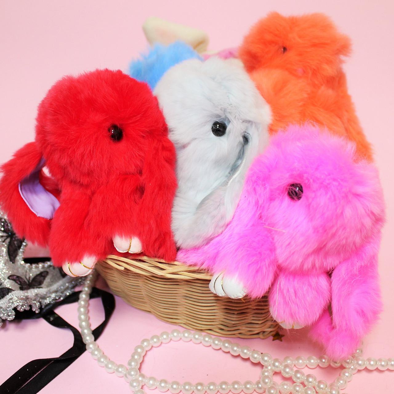 fad101f100cc Меховые брелки Кролики на сумку/рюкзак/ ключи - Style-Baby детский магазин в