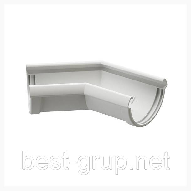 Кут жолоба 135, 140/100. Водостічні системи Docke LUX (Деці Люкс)