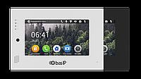 IP Видеодомофон - BAS-IP AP-07L Silver/Black, фото 1