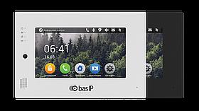IP Видеодомофон - BAS-IP AP-07L Silver/Black