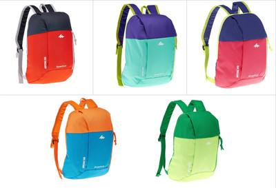 Рюкзак детский Quechua 7л. разные цвета