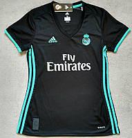 Женская футболка Реал Мадрид 2017-2018  черная