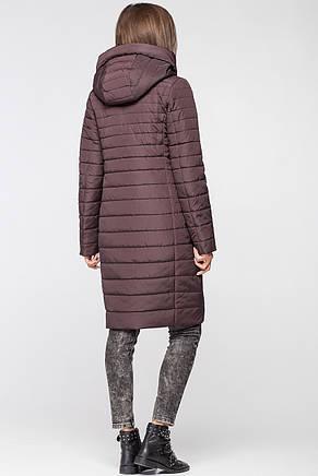 Стильная женская демисезонная куртка MT-187 горький шоколад (#LV2), фото 2