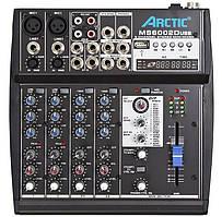 Мікшерний пульт ARCTIC MS6002D USB