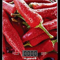 Кухонные весы ViLgrand VKS-525_Pepper