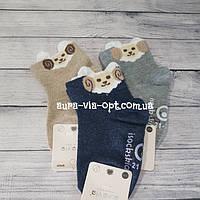 Aura.via. Детские носки с ушками барашками с резиновыми стопами