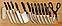Качественный Набор ножей Mibacle Blade World Class ( 13 предметов), фото 4