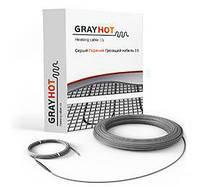 GrayHot 186 Вт (1,3-1,6 м2) теплый пол, двухжильный кабель, фото 1