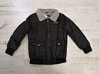 Куртки кожзам на мальчика на меху, Glo-story, 92/98-128  рр, фото 1