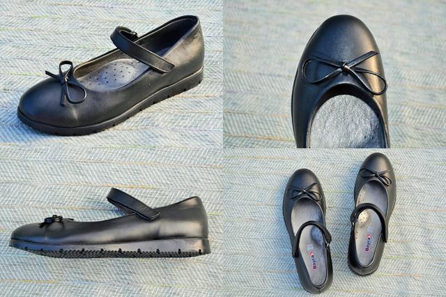 Школьные туфли для девочки Bayrak фото
