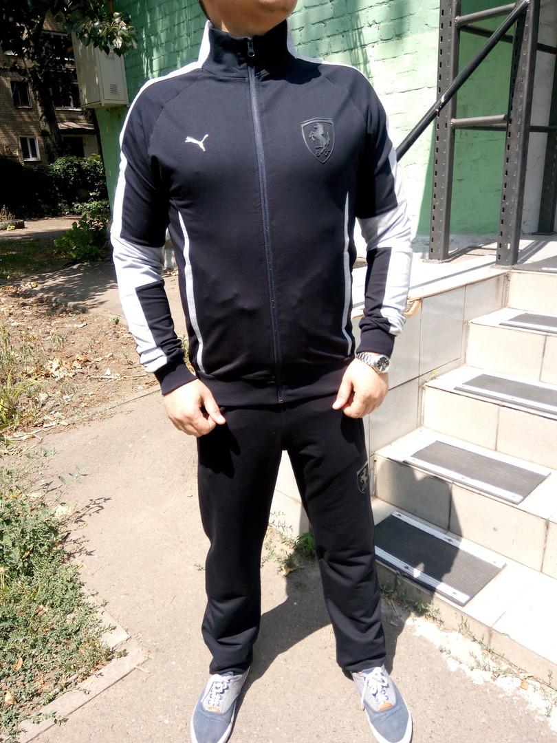 Мужской спортивный костюм Puma Mercedes.Синий