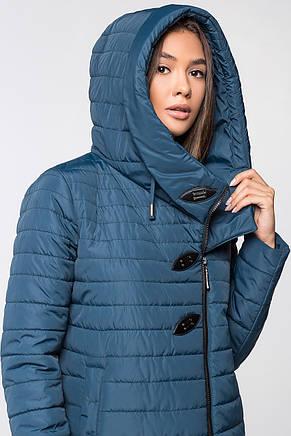 789bfc0ece65 Женская демисезонная куртка MT-187 синего цвета ( SIN55 - мурена) , фото