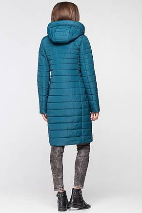 Женская демисезонная куртка MT-187 изумруд (#14), фото 2