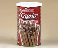 Палочки Шоколадные Papadopoulos Caprice Chocolate Wafer Rolls 250g Каприс Трубочки