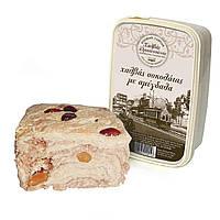 Греческая Халва кунжутная миндаль с шоколадом, Халва Тахинная, сезамовая халва 400 грамм