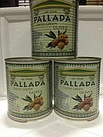 Оливки Крупные 70/90 0,4 кг Греческие Оливки с косточкой