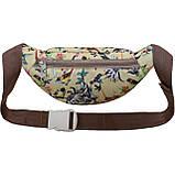 Барсетка сумка на пояс , поясная сумочка Bagland Bella 2 л. , фото 2