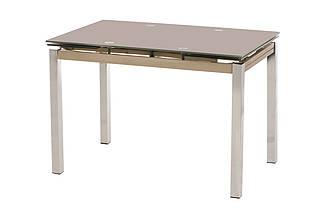 Стол Т-231 кофе мокко 110/170 от Vetro Mebel, стекло