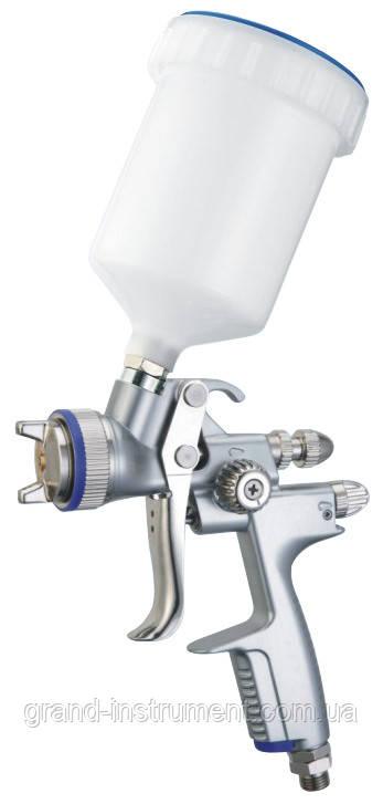 Краскопульт пневматический LVMP верх.пласт.бачок 600мл, форсунка-1,4мм (H-1000B-1.4LM) ITALCO H-1001A-1.4LM