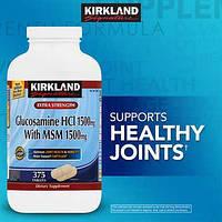 Усиленный Глюкозамин c МСМ Kirkland Signature США 375 таблеток