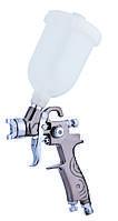 Краскопульт пневматический тип LVMP  верхний пластиковый бачок, диаметр форсунки-1,0мм  AUARITA   K-350-1.0
