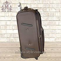 Комплект чемоданов 2-х колесных (коричневый), фото 3