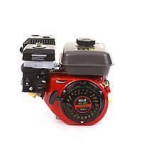 Двигатель бензиновый BULAT BW170F-T/25 (для BT1100) шлицы 25 мм, 7 л.с