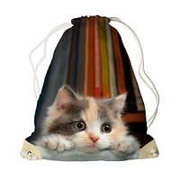Рюкзак Мешок детский с рисунками Милый котенок