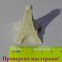 Фигурка из гипса Эйфелева башня. Гипсовая 3D фигурка для раскрашивания, фото 1
