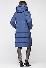 Теплая женская зимняя куртка VS MT-191 синяя (#29), фото 3