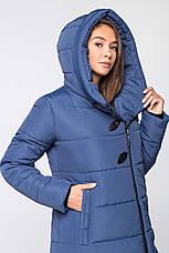 Теплая женская зимняя куртка VS MT-191 синяя (#29), фото 2