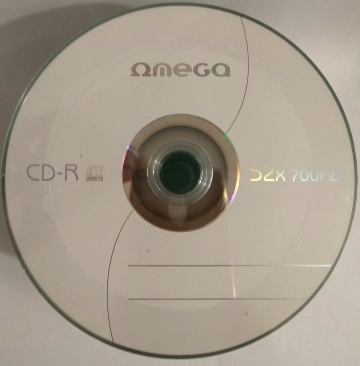 CD-R Omega 80 52x ( 50 шт )
