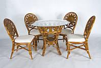 Обеденный комплект Аскания (стол +4 стула), фото 1