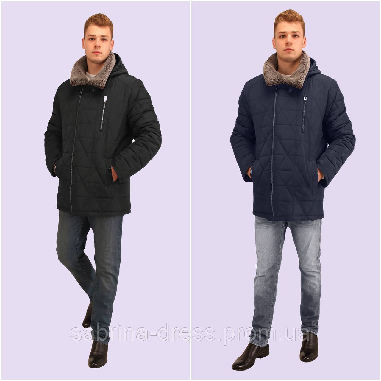 Куртка мужская зимняя. Модель 179. Размеры 48-60. Два цвета