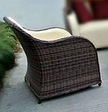 Комплект плетеной мебели Марине (2 кресла и журнальный столик), фото 2