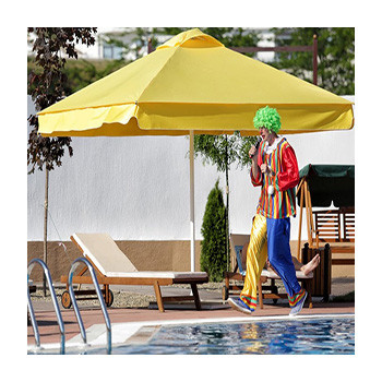 Основные правила использования пляжного зонта от солнца: