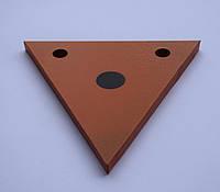 Гонг мишень 150х150 треугольник Сателит (606), фото 1