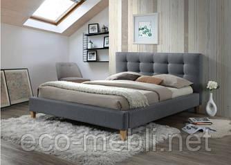 Двоспальне ліжко з мякою оббивкою Texas 180 Signal