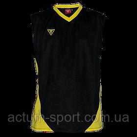 Волейбольная майка Triumph Titar черно/желтая