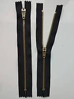Застібка блискавка для штанів метал / 18см