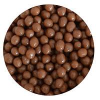 """Посипка """"Рисові кульки (молочні) 3-4мм."""", 50 гр."""